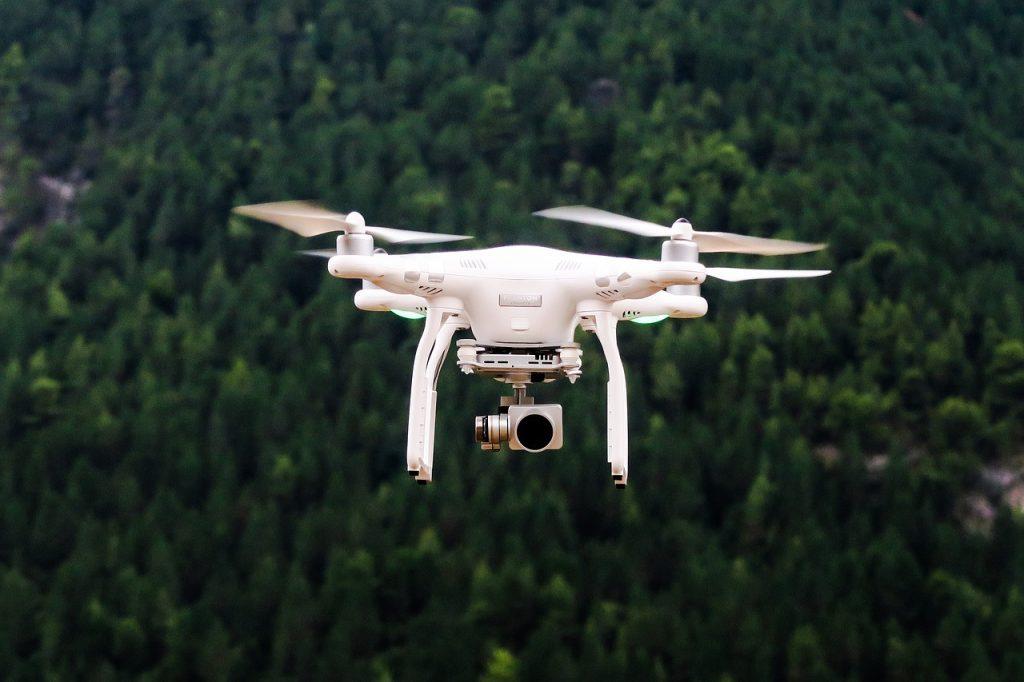 cámara drone